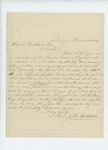 1861-10-30 J.C. Mitchell applies for a bounty on behalf of Charles B. Veazie by J. C. Mitchell
