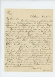 1861-11-02  Sewall recommends Captain Fernando C. Foss for promotion