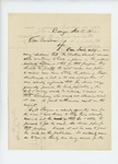 1861-11-05  Albert Paine recommends that Mr. Boyce recruit for the Grattan Guards