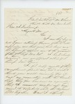 1861-11-06  Lieutenant Colonel George Varney writes to Governor Washburn to refuse the command of the 7th Regiment