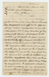1861-11-16  Dr. Daniel McRuer requests the removal of Dr. Hawkins and the promotion of Dr. Carr