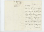 1861-11-18  Hannibal Hamlin recommends John E. Reynolds and Samuel Hinckley for promotion