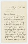 1861-11-26  John Appleton requests a commission for John A. Lancey