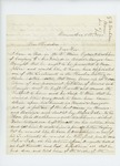 1861-12-05  George W. Washburn again solicits promotion and transfer for son Cyrus A. Washburn