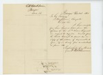 1861-12-14  George W. Washburn requests copy of letter regarding his son Cyrus