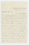 1861-12-19  S.B. Morrison requests appointment of Dr. Hamlin as surgeon of the 7th Maine Regiment