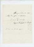 1861-12-20   Samuel Field informs Adjutant General Hodsdon of nine recruits