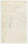 1861-12-27  Adjutant John Reynolds asks Adjutant General Hodsdon why he doesn't want him appointed to the regiment