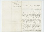 1862-01-01  Corporal William Eaton requests a transfer to the 6th Maine artillery unit