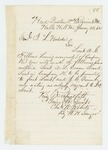 1862-01-25  Colonel Charles Roberts recommends A.L. Cowan and J.C. Quimby for promotion