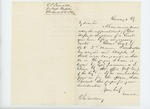 1862-02-04  G. P. Sewall recommends Sergeant D. Staples for promotion