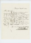 1862-02-06  B.H. Mace returns receipts for men wounded at Manassas