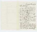1862-02-08  B.H. Mace writes to Hodsdon regarding