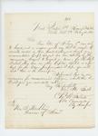 1862-02-12  Colonel Charles Roberts writes Governor Washburn regarding recruitments