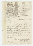 1862-02-21  Colonel Charles Roberts requests a 1st Lieutenant commission for Sergeant Lewis P. Mudgett