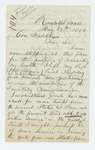 1862-05-24  Lieutenant George W. Brown offers to recruit more men