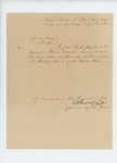 1862-06-06   Honorable discharge of Captain E.S. Merrill