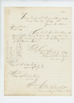 1862-06-06   Official copy of honorable discharge of Captain E.S. Merrill