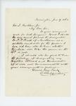 1862-06-09   Dr. C. Alexander recommends C.F. Pratt for assistant surgeon