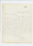 1862-06-17  Captain Charles Tilden writes on behalf of Charles Bridges