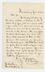 1862-06-20  T.P. Batchelder requests information to assist Crosby Crocker in his return to his regiment