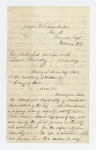 1862-06-24  W.P. Wingate recommends Joseph Chamberlain for commission