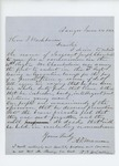 1862-06-24  A.D. Manson and others request a commission for Joseph Chamberlain in the 16th Regiment