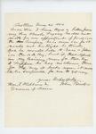 1862-06-26  John Bridges writes again regarding a commission for his son Charles