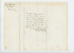 1862-07-02  Brigadier General J.H. M[?] recommends Captain Sargeant for promotion