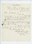 1862-07-05  Colonel Charles Roberts recommends W.S. Mudgett, George Brown, and Jas. C. Collins for promotion