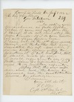 1862-07-08  Captain Fernando C. Foss requests a commission as a field officer in a new regiment