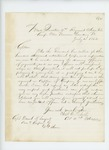 1862-07-10  Colonel Charles Roberts recommends Captain Daniel F. Sargent for promotion
