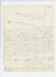 1862-07-10  Captain Daniel F. Sargent requests a recommendation from Adjutant General Hodsdon