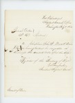 1862-07-11  Extract of Special Order 159 regarding the discharge of Reverend John F. Mines