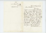 1862-07-12  George W. Washburn solicits a commission for his son Cyrus