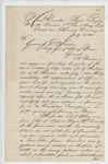 1862-07-14  George E. Holt submits letters of recommendation for his promotion