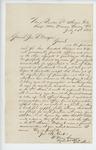1862-07-14  William Henry Sanger requests promotion