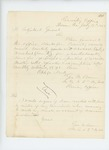 1862-07-15  Lieutenant George W. Brown requests enlistment and recruitment paperwork