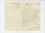 1862-07-17  Lieutenant J.W. Adams requests a promotion to captain and transfer to the 18th Maine Regiment