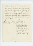 1862-07-18  John Kimball and others endorse Samuel Nash as regimental quartermaster