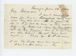 1862-06-26  G.P. Brown sends requests for pay for four men