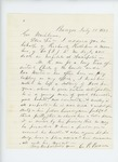 1862-07-30  C.P. Brown recommends a wounded Richard Kelleher for promotion