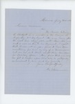 1862-07-31  George W. Chamberlin writes regarding a commission for Edwin R. Blodgett