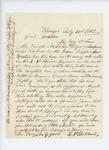 1862-07-31  E.P. Baldwin writes on behalf of John Dyer regarding his sons