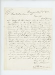 1862-08-01  S.B. Morrison offers to take charge of new recruits