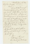 1865-01-17  James S. Coombs requests his discharge certificate