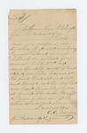 1863-11-09 C.E. Morgan requests information on James Pickard taken prisoner at Fredericksburg