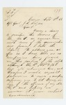 1863-09-10  W.H. Boynton requests permission to re-enter service and raise a company