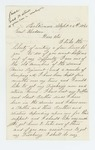 1863-09-26  Dudley H. Leavitt requests discharge as he is 4 months overdue for release