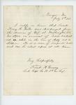 1863-07-07  Captain Frank A. Garnsey certifies discharge of Henry B. Miller